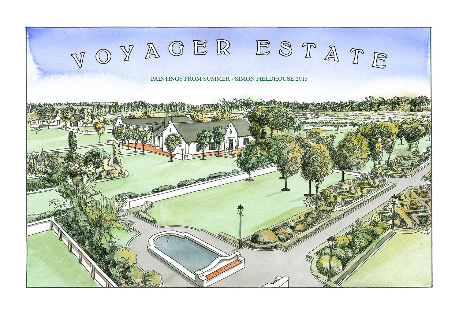 Voyager Estate Aerial View