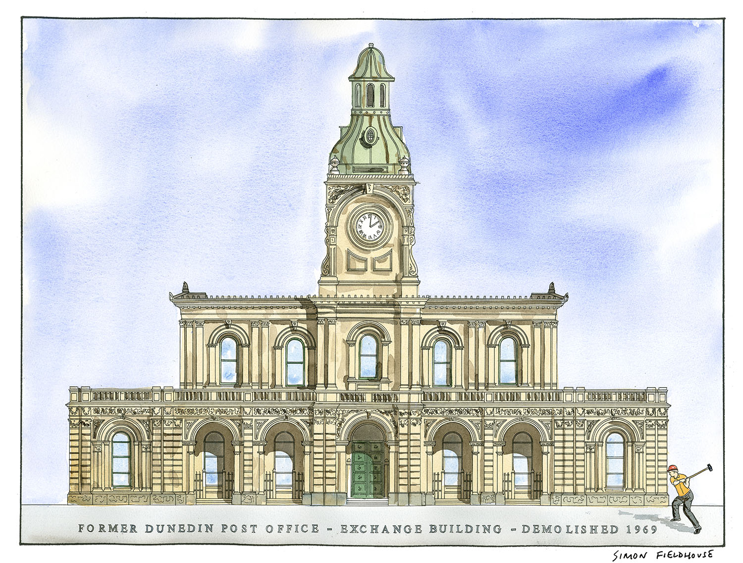 Former Dunedin Post Office Exchange Building