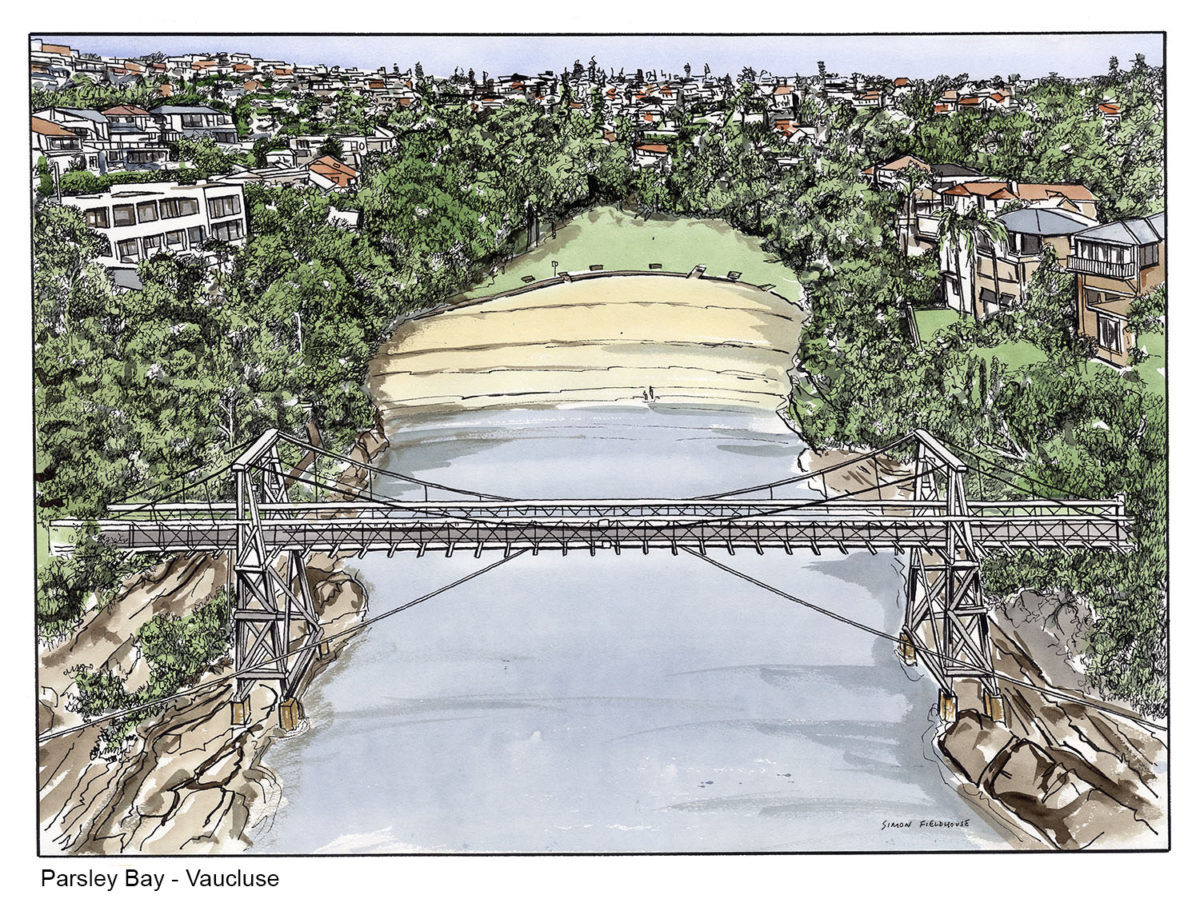 Parsley Bay Suspension Bridge-Vaucluse