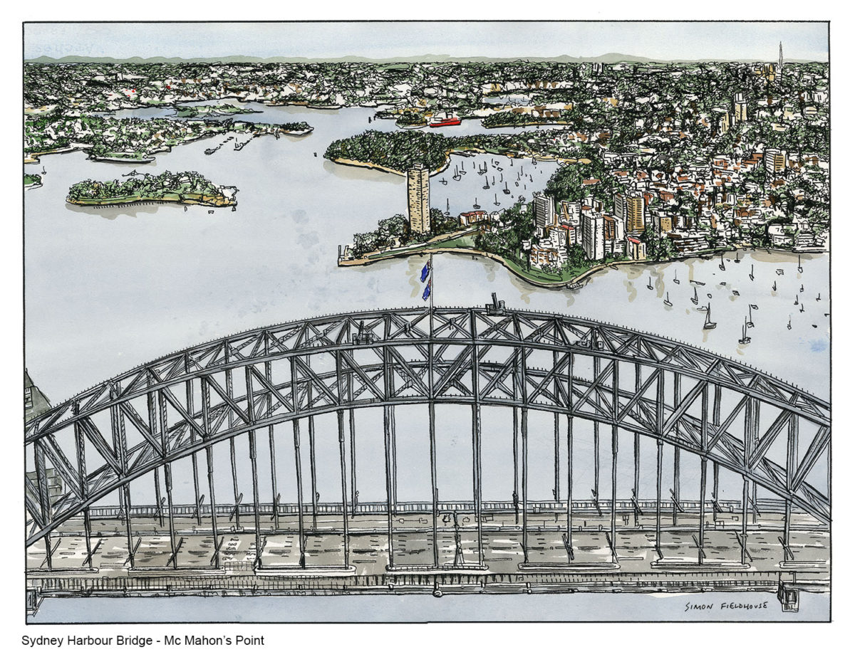 Sydney Harbour Bridge McMahons Point Simon Fieldhouse 1