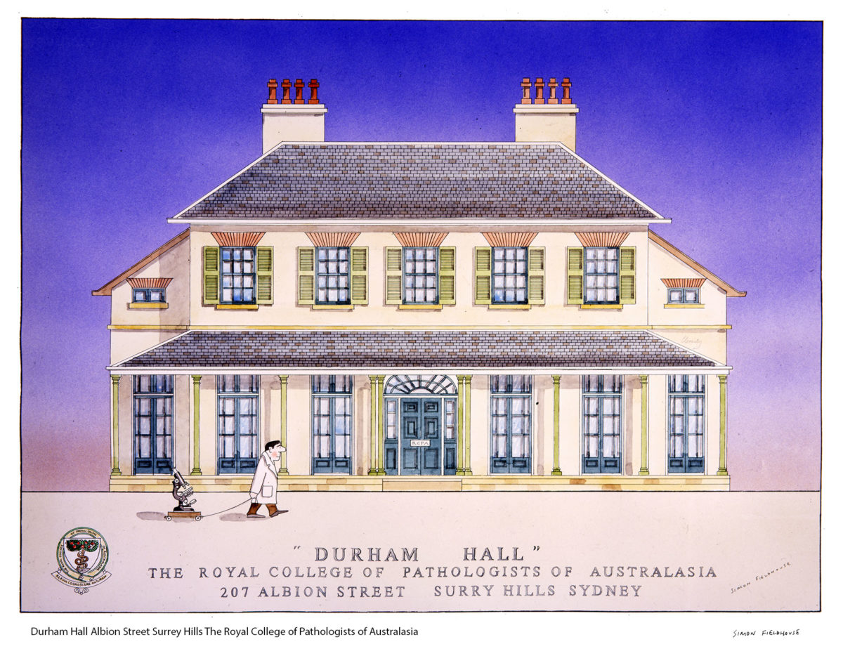 Durham Hall Albion Street Surrey Hills The Royal College of Pathologists of Australasia