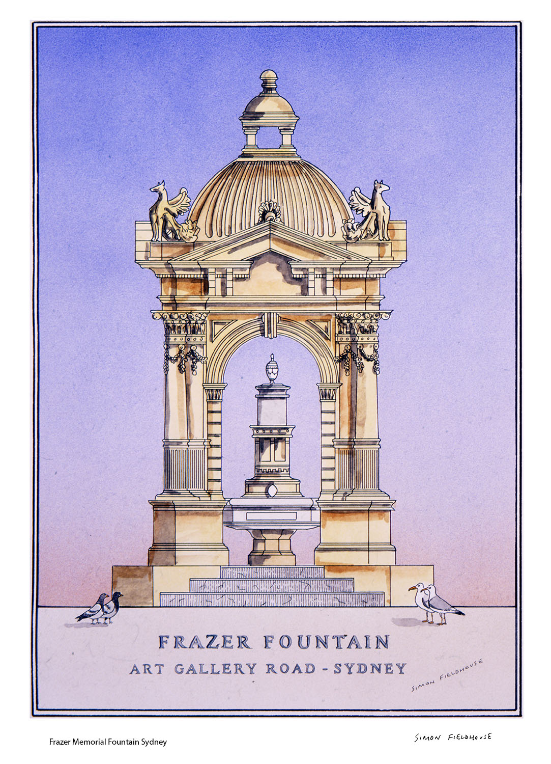 Frazer Fountain Sydney