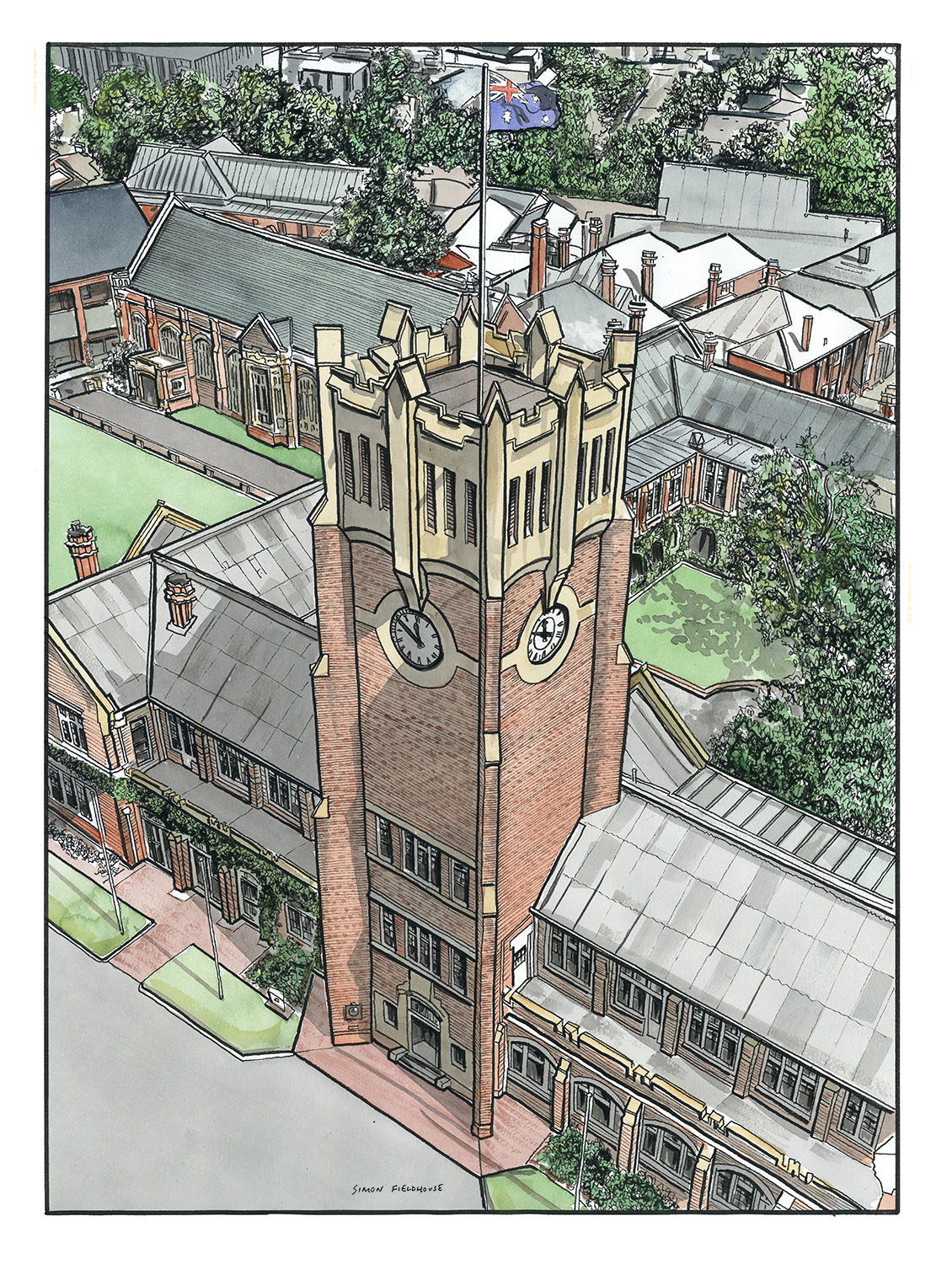 Geelong Grammar School Clocktower