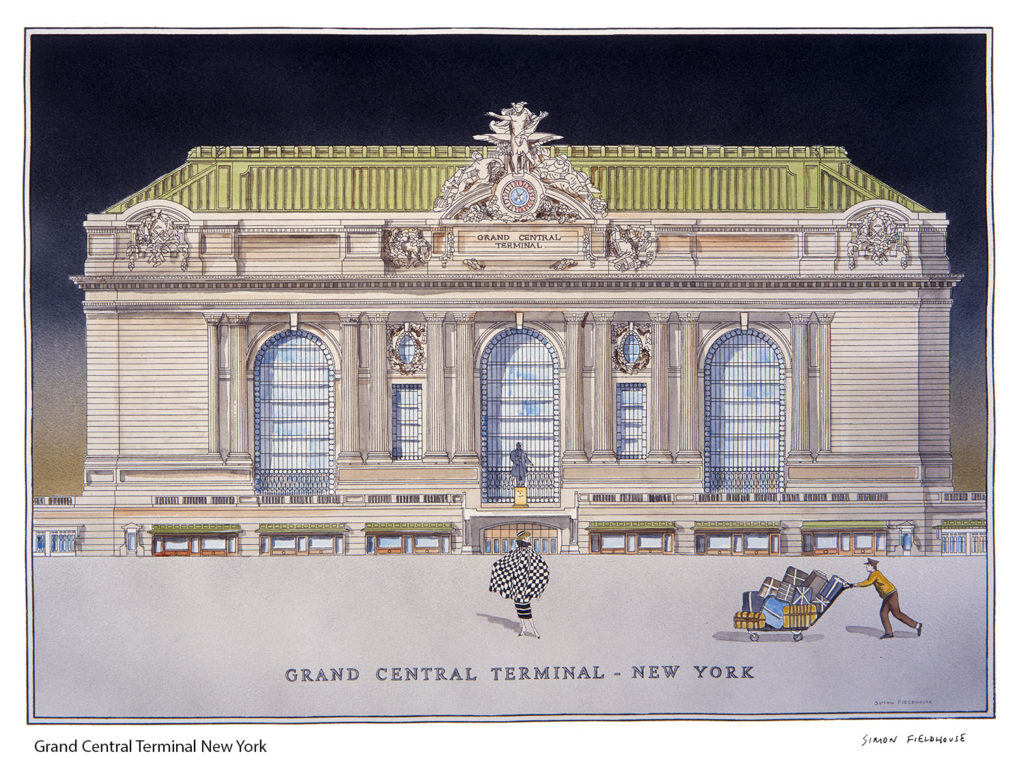 Grand central terminal new york simon fieldhouse - Grand tableau new york ...
