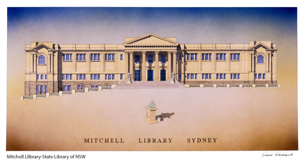 Mitchell Wing State library NSW