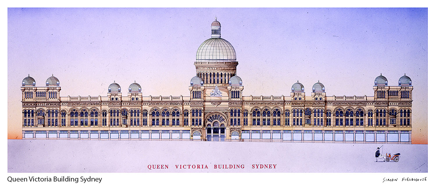 Qvb Queen Victoria Building Sydney Simon Fieldhouse