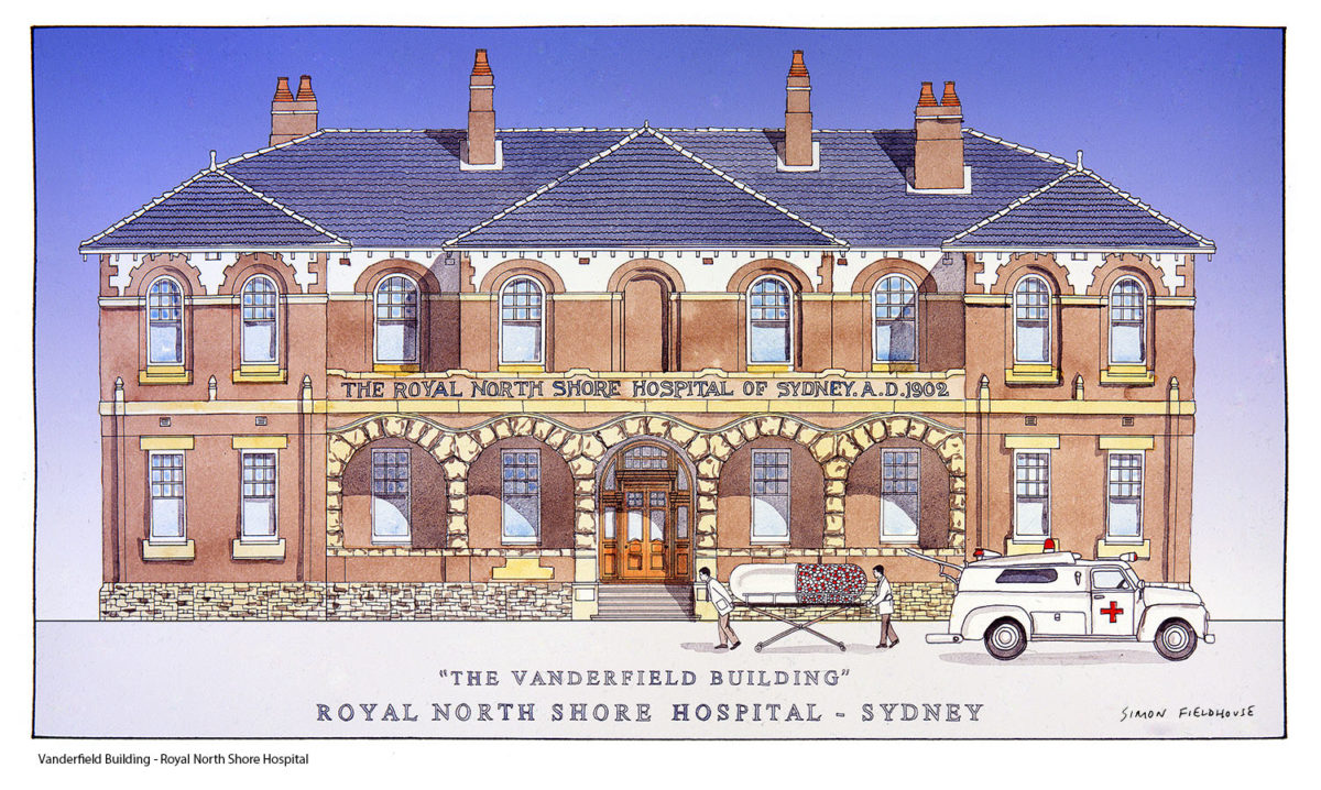 Vanderfield Building Royal North Shore Hospital