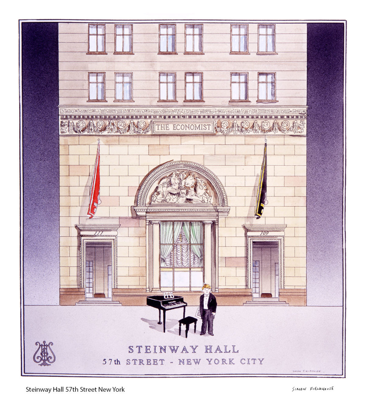 Steinway Hall 57th Street New York