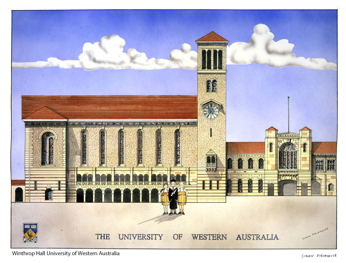 Winthrop Hall University Of Western Australia Simon
