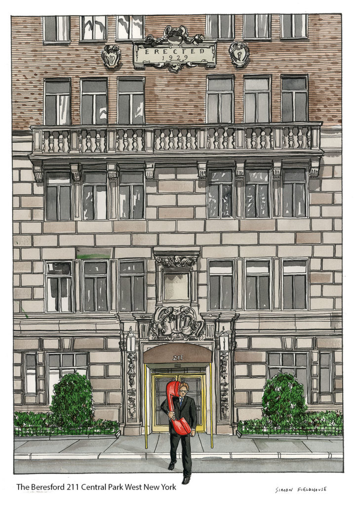 The beresford 211 central park west new york simon for Central park apartment new york