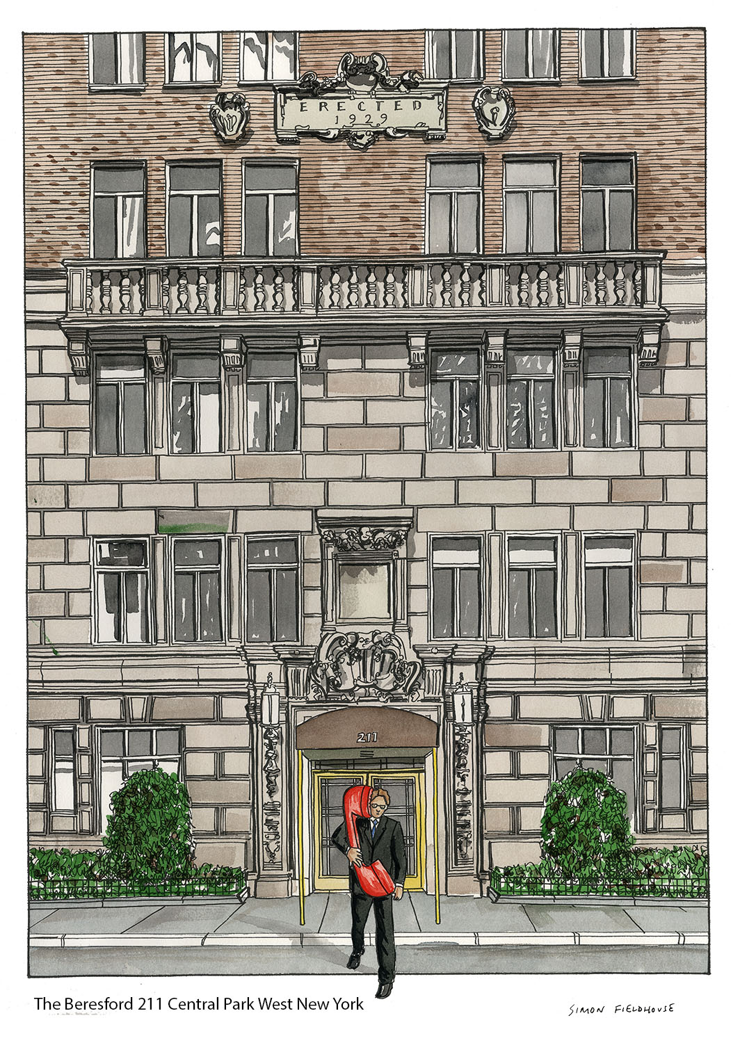 the Beresford 211 Central Park West New York