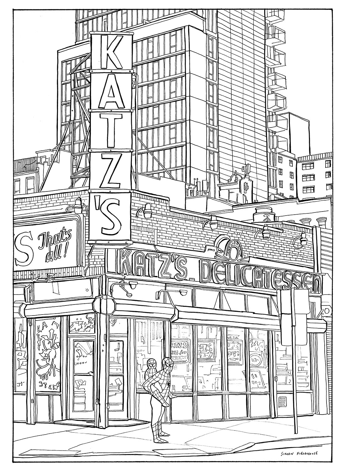 Katzs Delicatessen New York